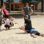 "Training im ""Sandkasten"""
