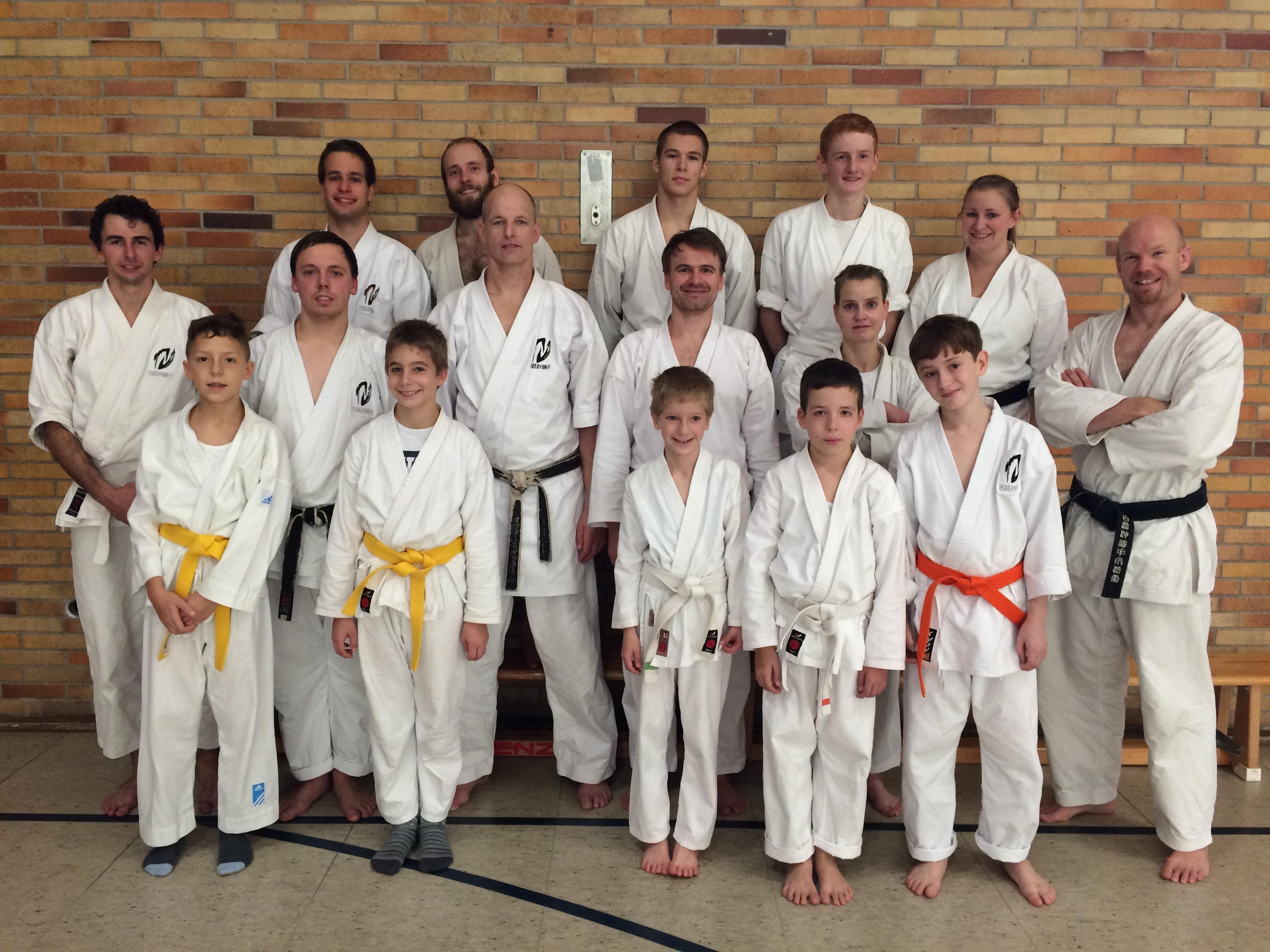 Karate-Seminar in Gärtringen mit Sensei Olaf Krey vom 17. bis 18.10.2015