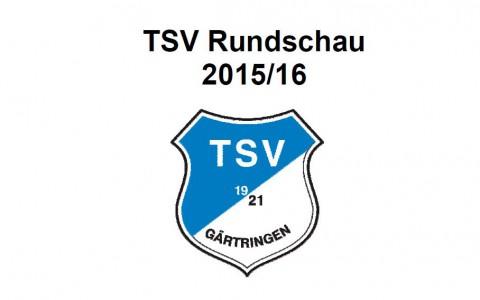 TSV-Hauptversammlung und Rundschau 2015