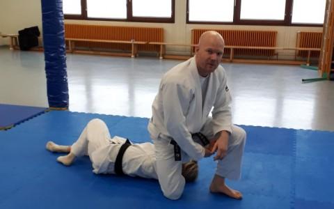 Training mit Sensei Olaf Krey am 20.01.2019