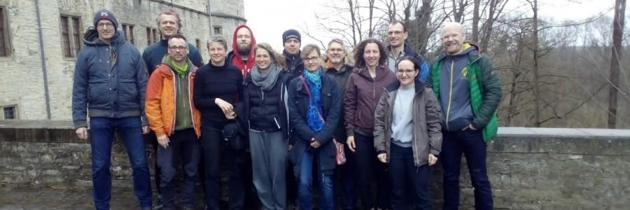 Yudanshakai auf der Wewelsburg am 2. und 3. März 2019