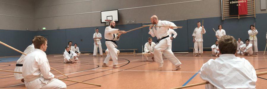 Bo- und Karate-Seminar mit Sensei Olaf Krey am 23./24.11. in Königsbrück